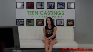 Beautiful amateur teen pulls down and get filmed